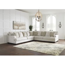 Rawcliffe - Parchment 3 Piece Sectional