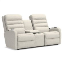 Forum Power Wall Reclining Loveseat w/ Console, Headrest & Lumbar