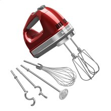 9-Speed Hand Mixer Candy Apple Red