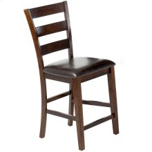 Kona Ladder Counter Stool  Raisin