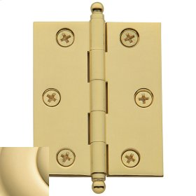 Non-Lacquered Brass Cabinet Hinge