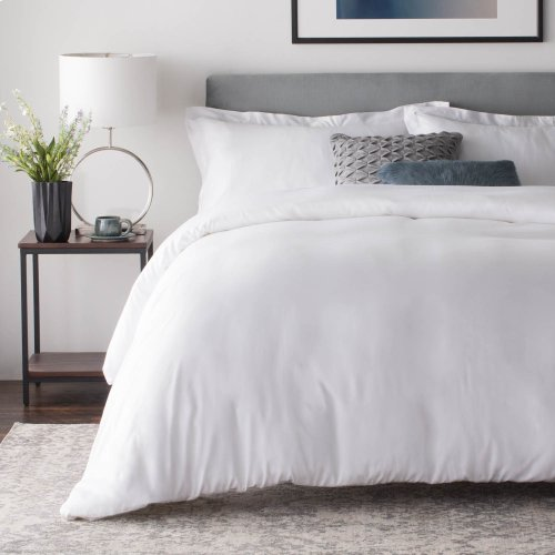 Rayon From Bamboo Duvet Set King Driftwood