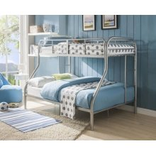 SILVER T/F BUNKBED KD VERSION