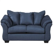 Signature Design by Ashley Darcy Loveseat in Blue Microfiber