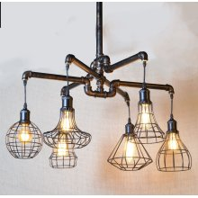 Luminaire Industrial Pipe Chandelier