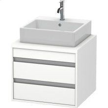 Ketho Vanity Unit For Console, White Matte