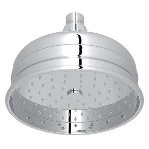 """Polished Chrome 6"""" Bordano Rain Anti-Cal Showerhead Product Image"""
