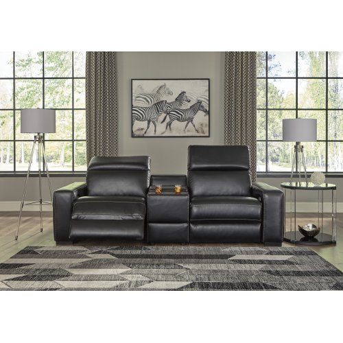 Mantonya - Midnight 3 Piece Sectional