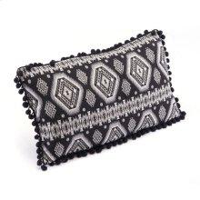 Tribal Pillow Black & White