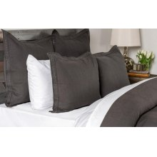 Harper Charcoal King Duvet 108x94