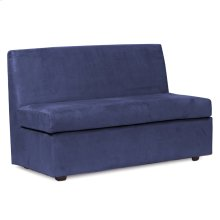 Slipper Loveseat Bella Royal