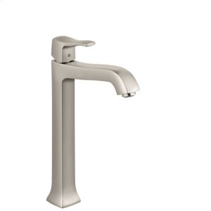 Brushed Nickel Single-Hole Faucet 250 with Pop-Up Drain, 1.2 GPM