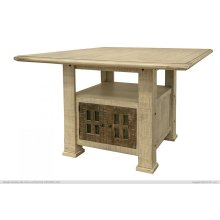 """Base w/ Storage for 50"""" Counter Tbl Top"""