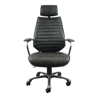 Executive Swivel Office Chair Black