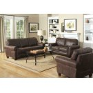 Allingham Traditional Brown Two-piece Living Room Set Product Image