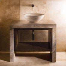 Siena Lastra Vanity Siena Silver Gray Marble