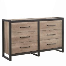 Edgewater Industrial Weathered Oak Dresser