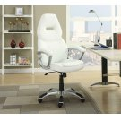 Contemporary White Office Chair Product Image