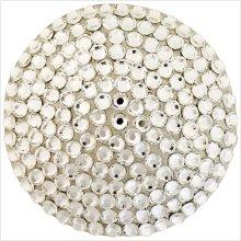 Round with Swarovski Crystals