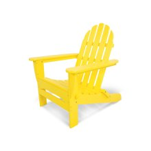 Lemon Classic Folding Adirondack