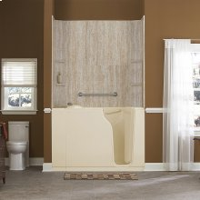 Gelcoat Premium Series 30x52-inch Walk-In Bathtub Combination  American Standard - Linen