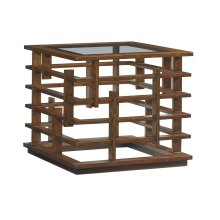 Nobu Square Lamp Table
