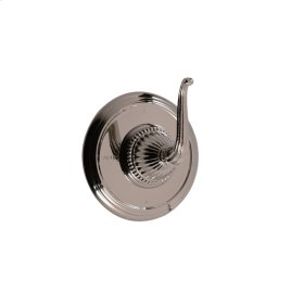 3-way Wall Mount Diverter in Bright Pewter
