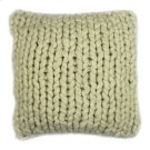 Abuela Wool Feather Cushion Natural 20x20 Product Image