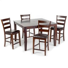 Kona Counter Table  Raisin