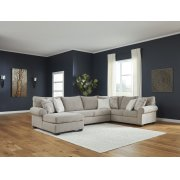 Baranello - Stone 3 Piece Sectional Product Image