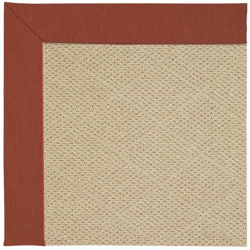Creative Concepts-Cane Wicker Canvas Brick Machine Tufted Rugs