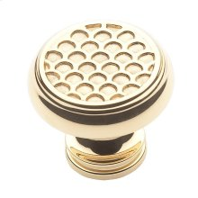 Polished Brass Couture Knob