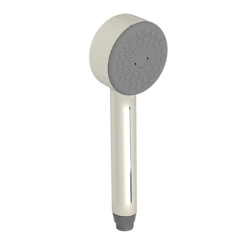 Polished Nickel Single-Function Cylindrica Handshower