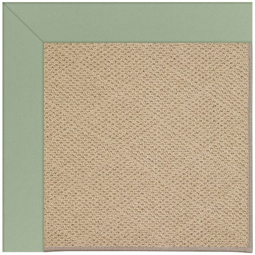 Creative Concepts-Cane Wicker Canvas Celadon Machine Tufted Rugs