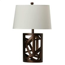 Transitional Warm Brown Lamp