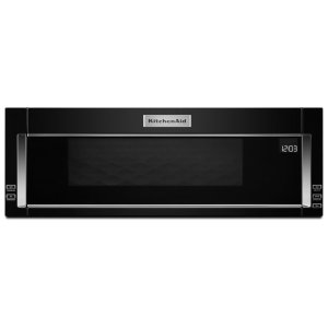 1000-Watt Low Profile Microwave Hood Combination Black Product Image