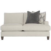 Mila Right Arm Loveseat in Aged Gray (788)