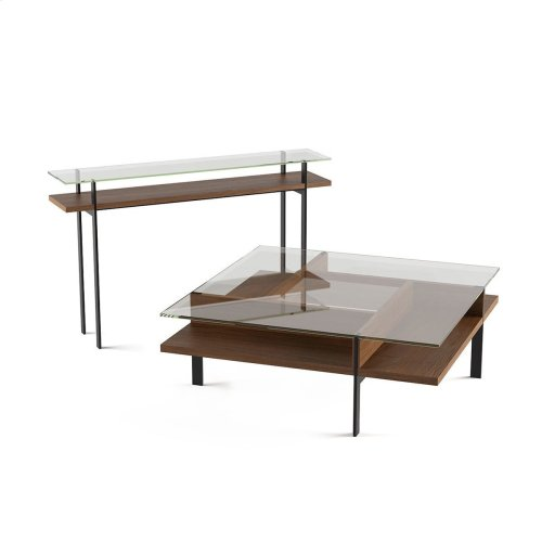 Console Table 1153 in Natural Walnut