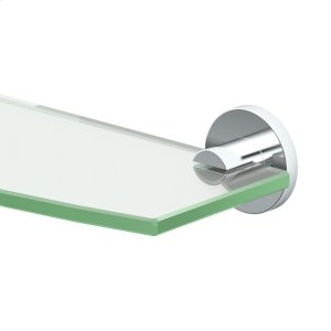 Channel Glass Shelf in Chrome Product Image