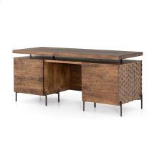 Raffael Desk-antique Brown