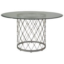 Royere Dining Table With Glass Top