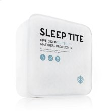 Sleep Tite 5-Sided IceTech Mattress Protector, Split Head Cal King