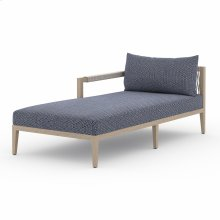 Laf Chaise Piece Configuration Faye Navy Cover Sherwood Outdoor Sectional Pieces, Washed Brown