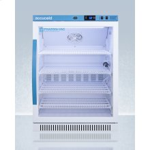 Performance Series Pharma-vac 6 CU.FT. Freestanding ADA Height Glass Door All-refrigerator for Vaccine Storage