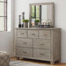 Naydell - Rustic Gray 2 Piece Bedroom Set
