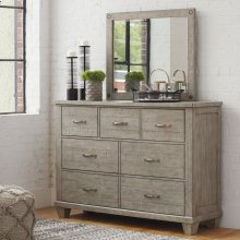 Naydell - Rustic Gray 2 Piece Bedroom Set
