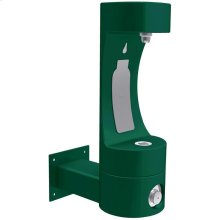 Elkay Outdoor EZH2O Bottle Filling Station Wall Mount, Non-Filtered Non-Refrigerated Evergreen