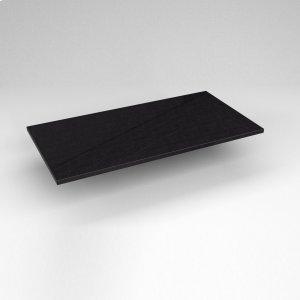 "Engineered Stone 37"" X 19"" X 3/4"" Quartz Dry Vanity Top In Lava Black Product Image"