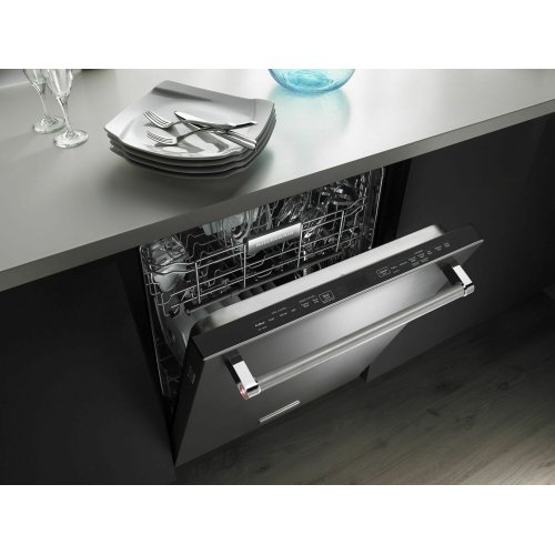 44 dBA Dishwasher with Dynamic Wash Arms Stainless Steel
