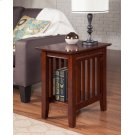 Mission Chair Side Table Walnut Product Image